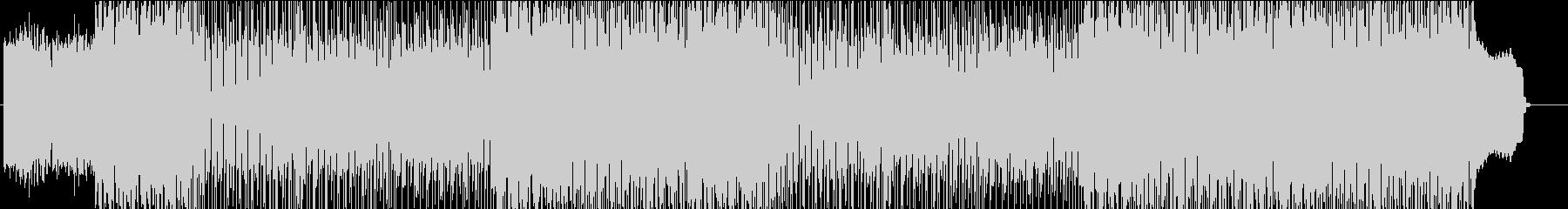 アップリフティングなポップロックの未再生の波形