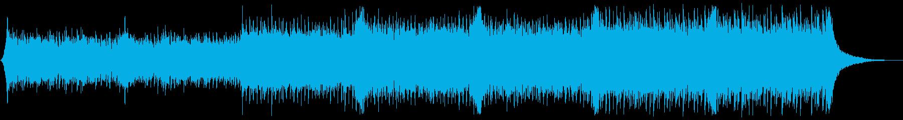 企業VP系104、爽やかギター4つ打ちbの再生済みの波形