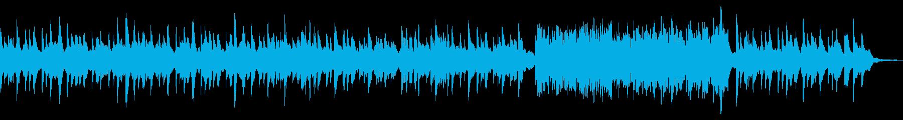 悲しく切ないオルゴールの再生済みの波形