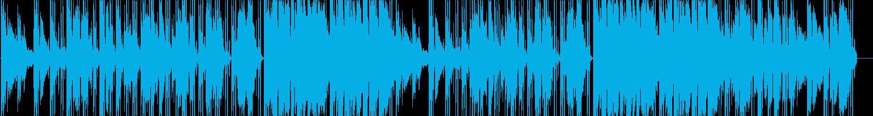 爽やかでオシャレなLO-FIの再生済みの波形