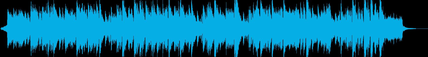 哀愁なトランペットなオーケストラ曲の再生済みの波形