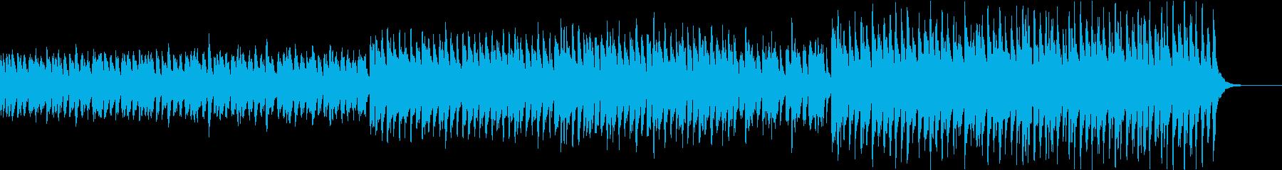 不気味でホラーな雰囲気のハロウィン曲の再生済みの波形