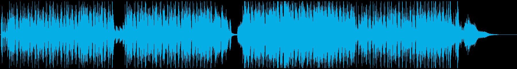 ※メロ無 キュートでレトロなボサノバ風の再生済みの波形