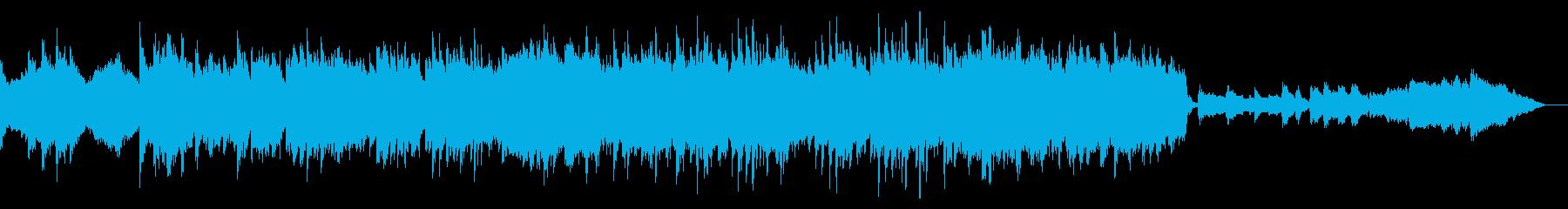壮大でスケール感のあるポップスの再生済みの波形