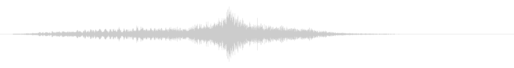 メタリックトーンによるディープイン...の未再生の波形