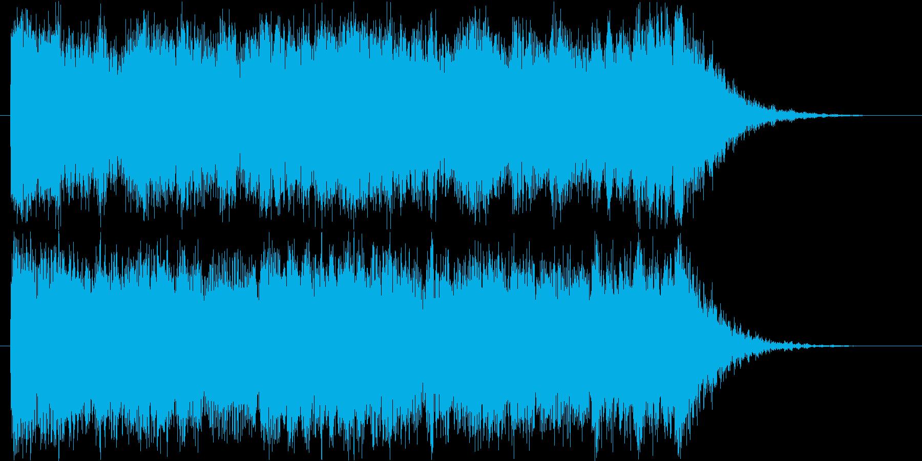 ハリウッド映画予告のような壮大なロゴ♪の再生済みの波形