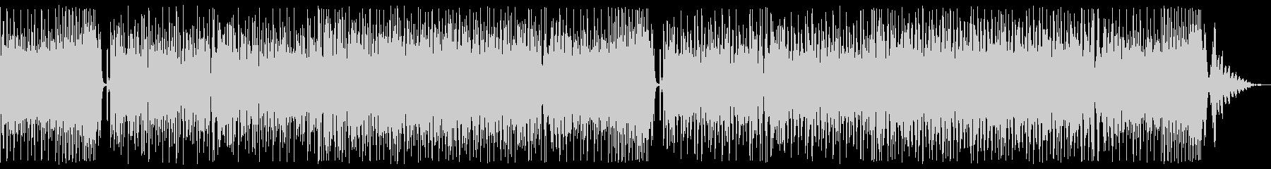 ヘビーなドラムンベースの未再生の波形