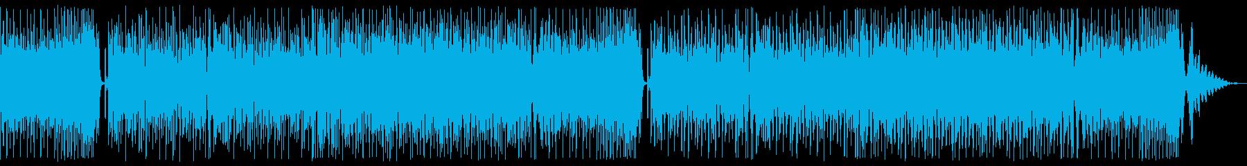 ヘビーなドラムンベースの再生済みの波形