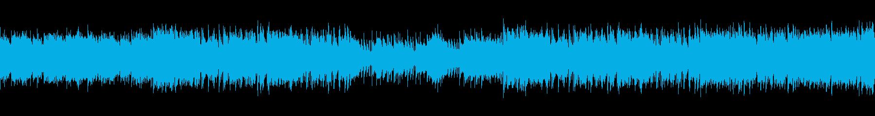 ループ・映画・おしゃれな夜景・R&Bの再生済みの波形