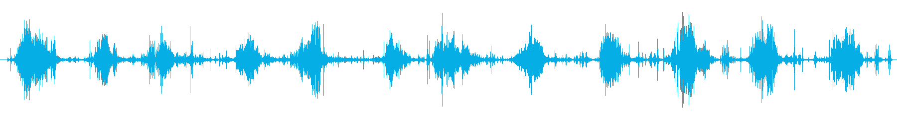 大きなカバのチューインガム、ずさんなの再生済みの波形
