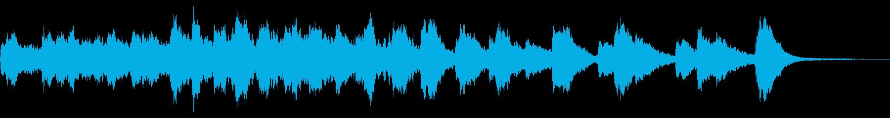レプトン教会、2つの鐘:リンギングの再生済みの波形