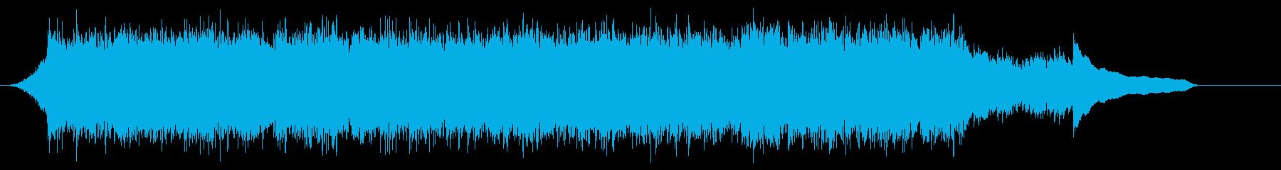 企業VP映像、103オーケストラ、爽快cの再生済みの波形