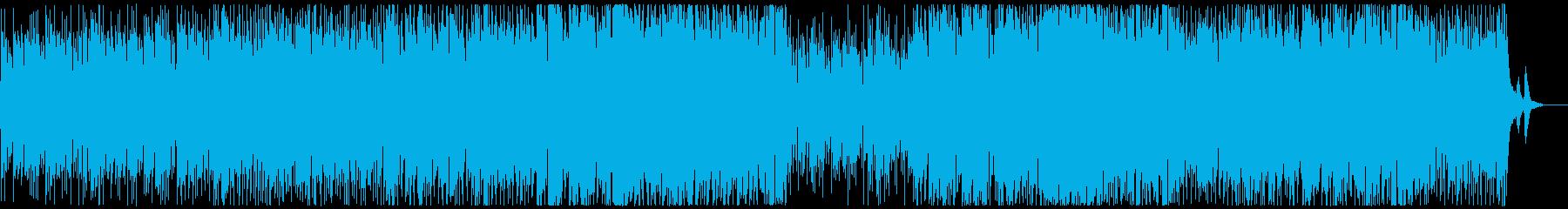 おしゃれなボサノバの再生済みの波形