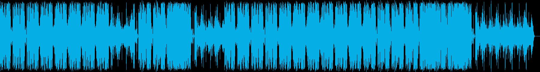Funky Musicの再生済みの波形