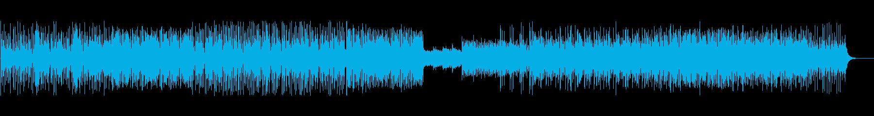 ピアノの躍動感が印象的なビートの再生済みの波形