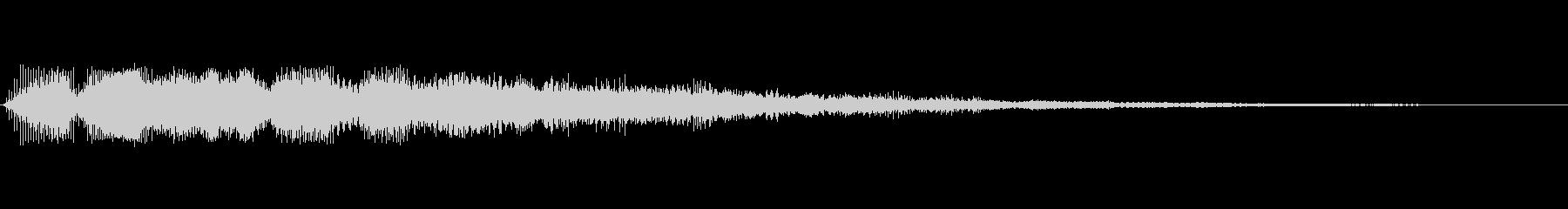 「ピロンッ」という操作・決定などの効果音の未再生の波形