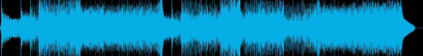 爽・エスニックムード漂うクラブテクノの再生済みの波形