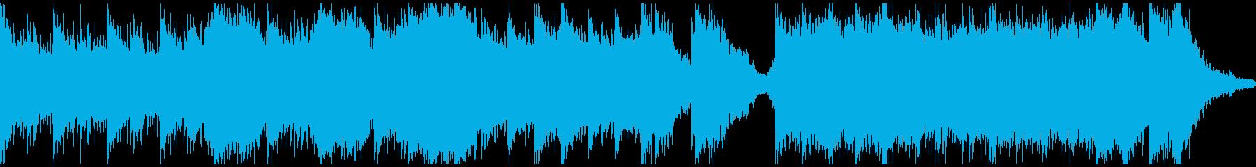ピアノ&ホラーアンビエント(ループ)の再生済みの波形