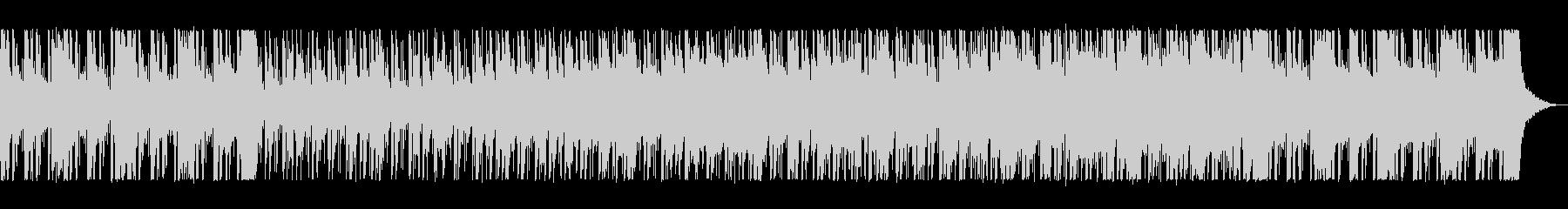 レトロな80sフュージョン・サウンドの未再生の波形