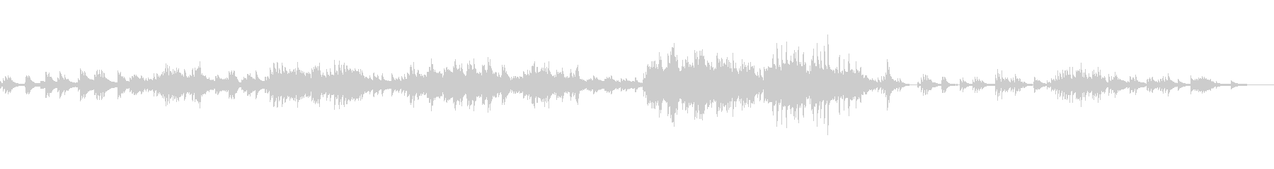 C=528Hz 癒しのピアノ 希望の未再生の波形