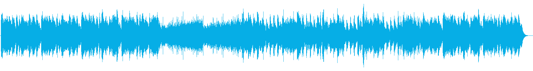 戦闘・追跡シーン系BGM_TypeBの再生済みの波形
