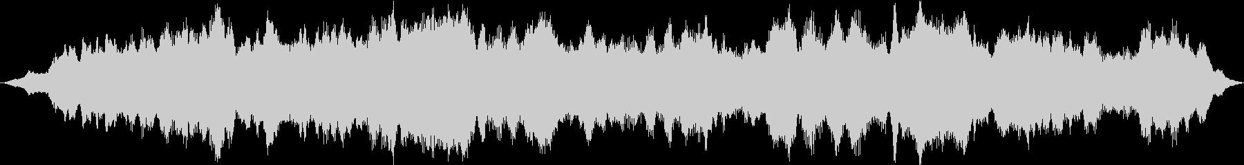 ドローン スクラッチードローン01の未再生の波形