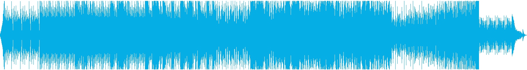 悲壮な決意 荘厳で険しい雰囲気のピアノ曲の再生済みの波形