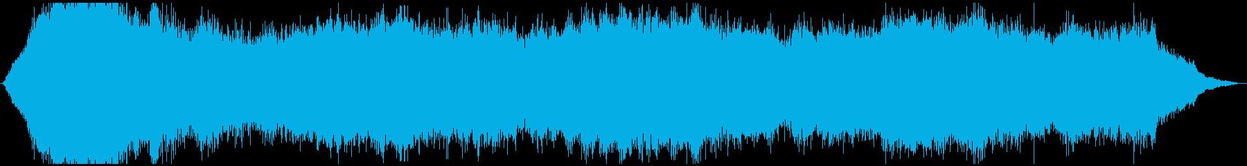 ドローン ゲイツ01の再生済みの波形
