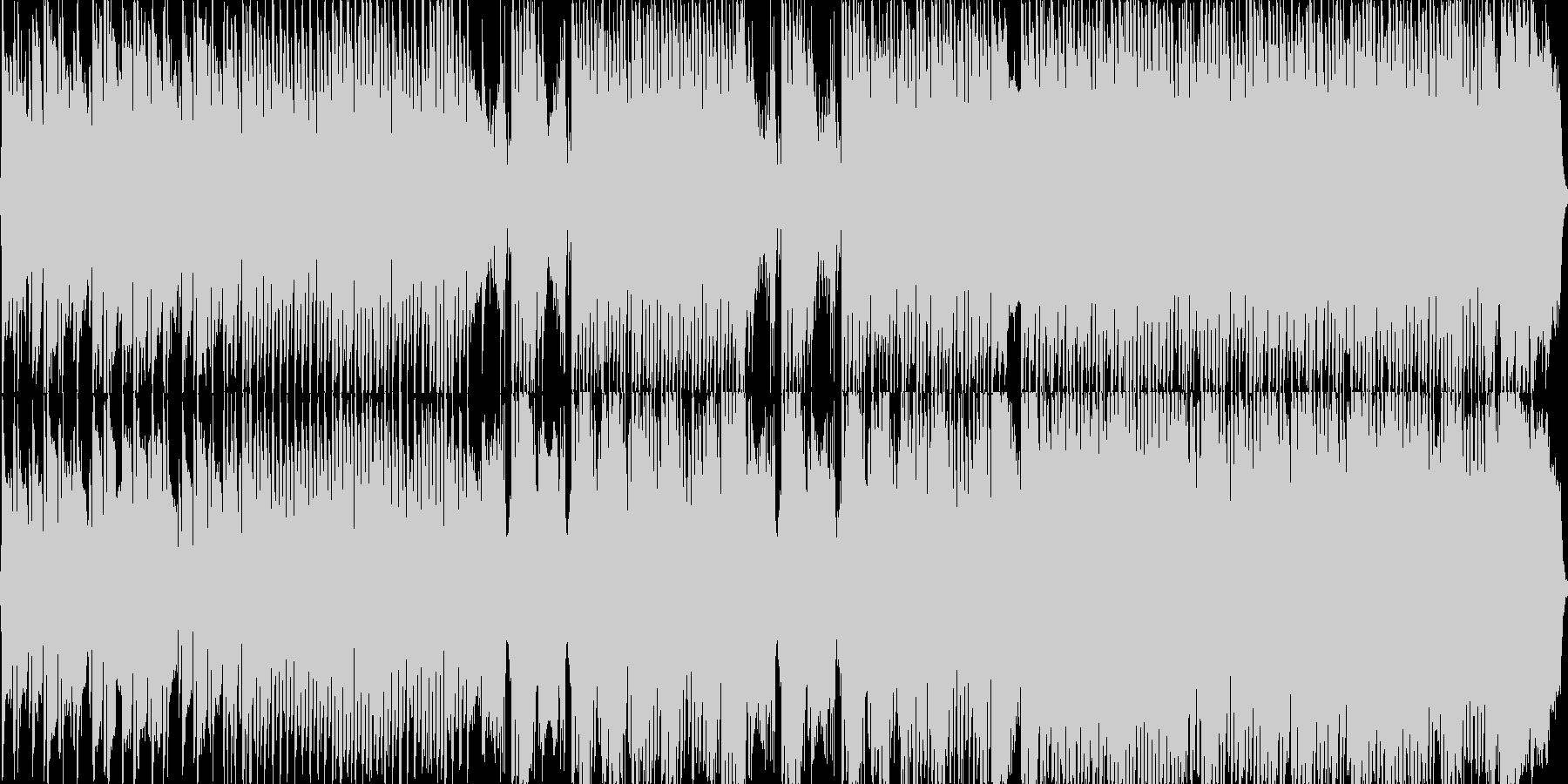 悲愴/テクノアレンジの未再生の波形