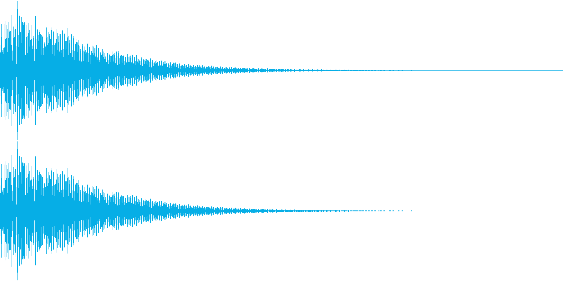DTM Tom 14 オリジナル音源の再生済みの波形