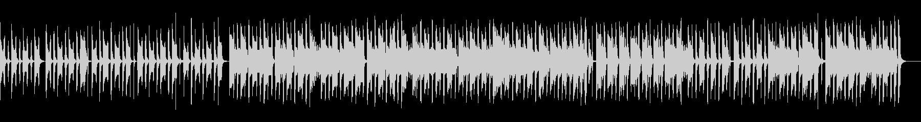 ほのぼの日常BGM トイピアノ 三拍子の未再生の波形
