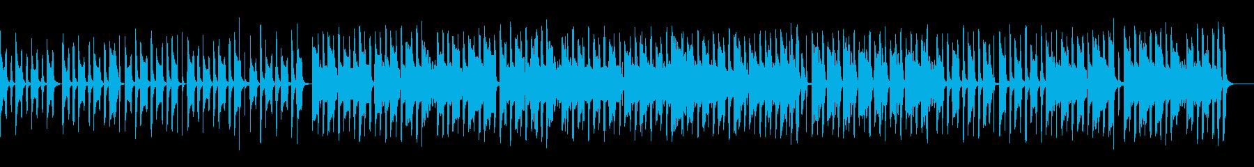 ほのぼの日常BGM トイピアノ 三拍子の再生済みの波形