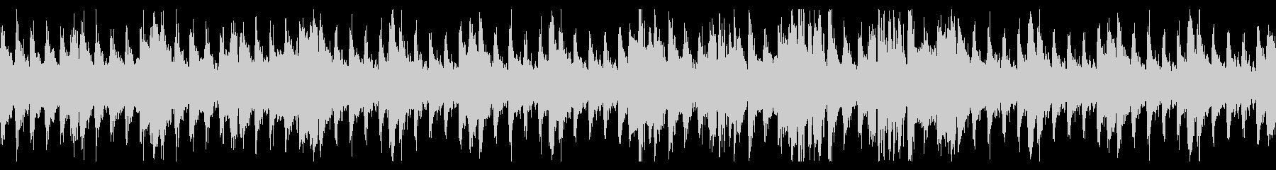 重厚で緊迫感のあるループBGMの未再生の波形