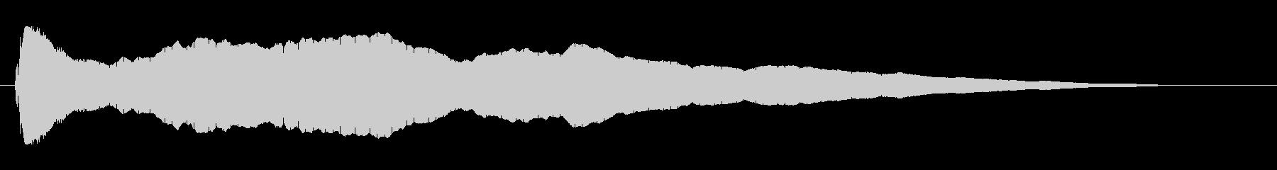 キュイーン (レーダー音)の未再生の波形