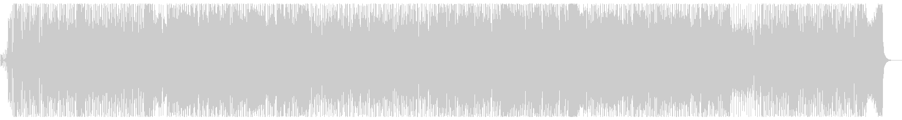 Refreshing and powerful melody's unreproduced waveform