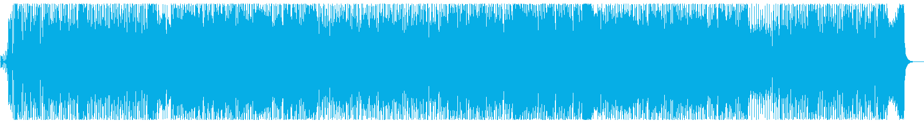 Refreshing and powerful melody's reproduced waveform