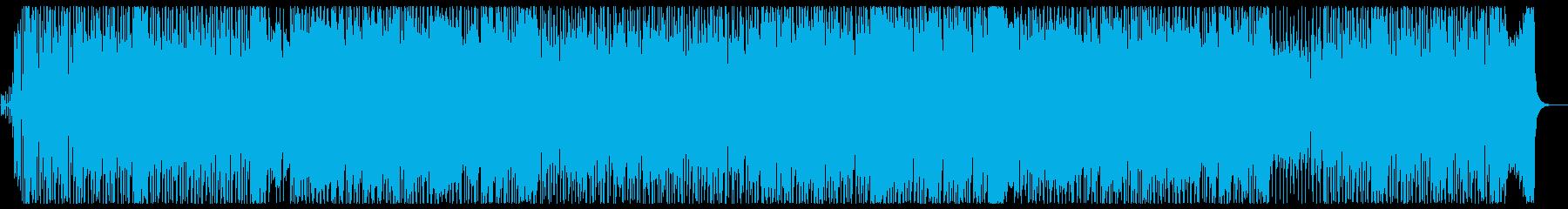 爽やかでパワフルなメロディーの再生済みの波形