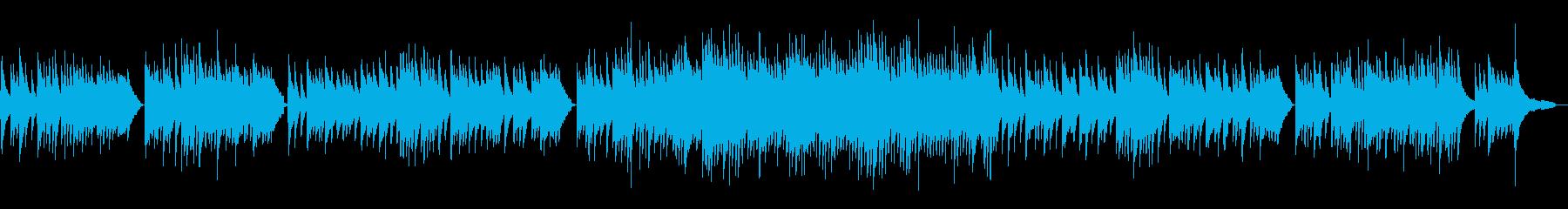 琴線に触れるような切ないピアノソロ曲の再生済みの波形
