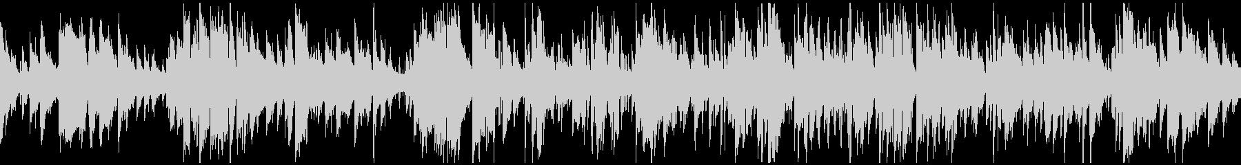 スマートで神秘的ゆったりジャズ※ループ版の未再生の波形