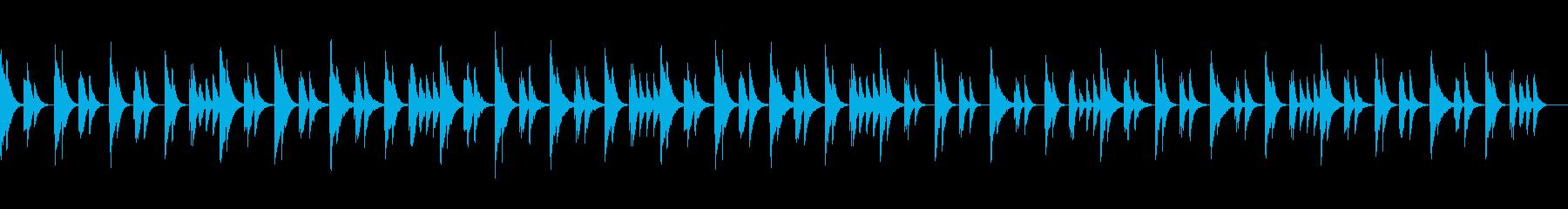 安心感で包み込んでくれるヒーリング音楽の再生済みの波形