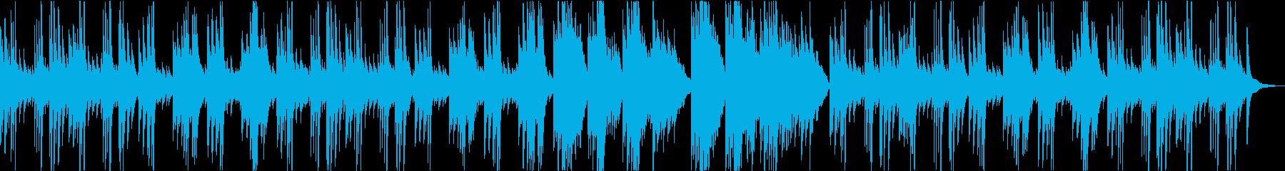 感動を感じるピアノバラードの再生済みの波形