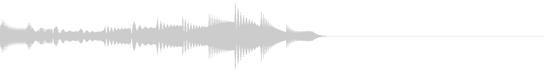 上昇音・キラーン・シャララン・エレピの未再生の波形