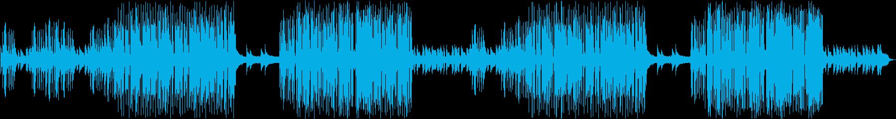ほのぼのした琴が印象的なかわいい和風の再生済みの波形