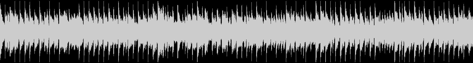 夕焼けリコーダー・ポップス ※ループ版の未再生の波形
