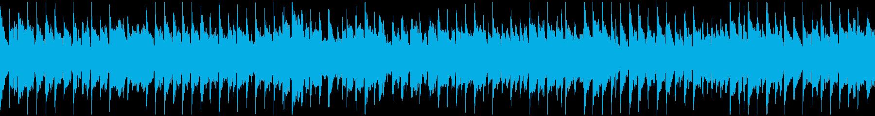夕焼けリコーダー・ポップス ※ループ版の再生済みの波形
