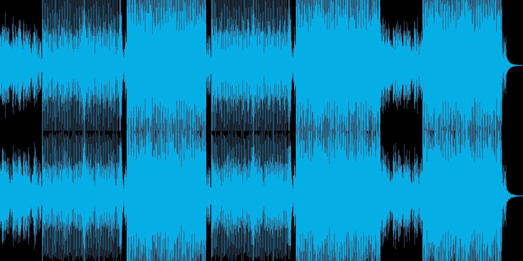 夏/海/浜辺が似合うトロピカルなBGMの再生済みの波形