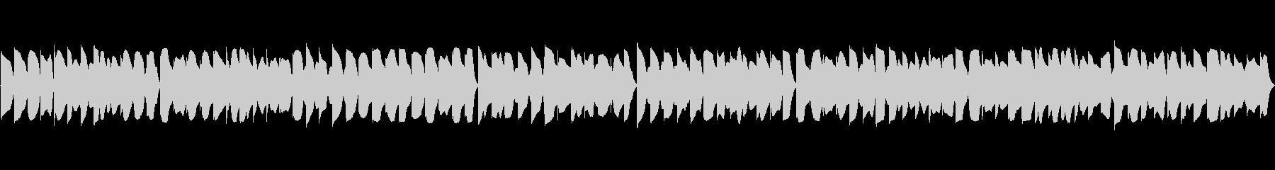 レトロ風なループ曲の未再生の波形