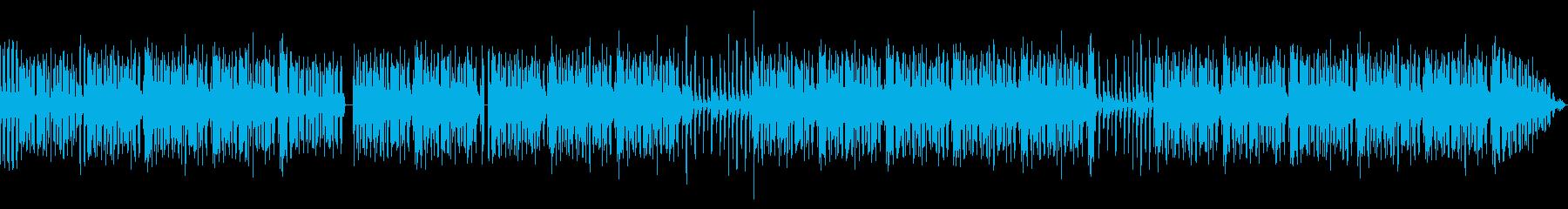 ヒップホップ楽器。自信に満ちた溝加工。の再生済みの波形