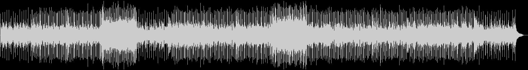 スローなバラード調の曲の未再生の波形
