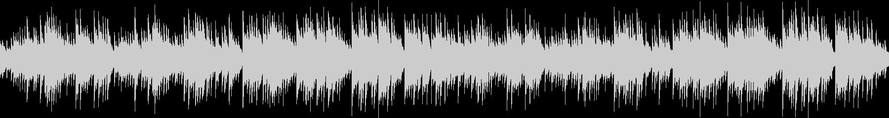 リラクゼーション系癒しピアノ(ループ可)の未再生の波形
